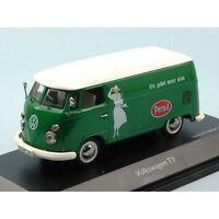 RARE SCHUCO VW T1 VAN PERSIL LIVERY GREEN & WHITE 1:43 OBSOLETE LTD EDT 1/1000