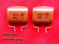12 pcs -  .039uf (0.039uf, 39nf) 630v  metalized poly film capacitors