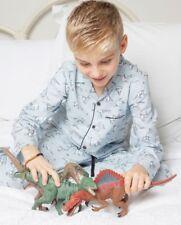 Boys Pyjamas Age 8-9, Dinosaur Origami Print By Minijammies. Free Giftwrap