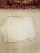 Hudson Park Collection 800 Tc Bed Skirt Queen White And Ivory Color