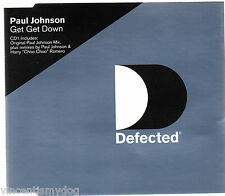 PAUL JOHNSON - GET GET DOWN (3 track CD single)