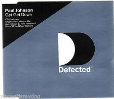 PAUL JOHNSON - GET GET DOWN (3 track CD single)