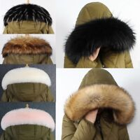 Trim Hood Faux Fur Hood Winter Neck Warmer For Jacket Ski Collar Wrap Shawl