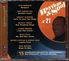 RHYTHM & SOUL - N°21 - MOTOWN - CD COMPILATION NEUF SOUS CELLO