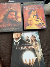 Dvd Lot: Crouching Tiger, Hidden Dragon/ Last Samurai/ The Illusionist