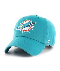Miami Dolphins 47 Brand Clean Up Hat Adjustable Cap Neptune