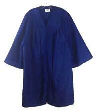 "Jostens Graduation Gown Choir Blue Robe Clergy Costume Mens Womens 5'01""- 5'03"""