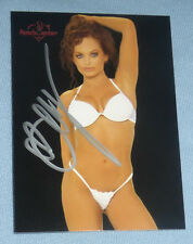 Christy Sunni Hemme Signed 2004 Benchwarmer Card 8 TNA Impact WWE Diva Autograph