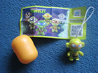 Kinder Surprise Egg toy Teenage Mutant Ninja Turtles with egg and instructions