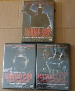 TRILOGIA MANIAC COP (Regia Lustig) 3 DVD  EDIZIONE ITALIANA NUOVI SIGILLATI