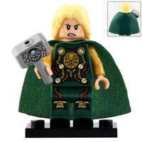 Hydra Thor - God of Thunder Lego Moc Minifigure, Figure Gift For Kids
