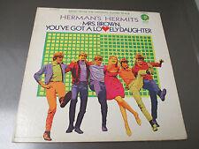 1968 Herman's Hermits – Mrs. Brown Soundtrack LP GF MGM – SE-4548 ST EX/VG+