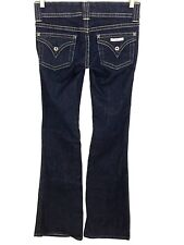 Hudson Fine Tailored Jeans Signature Boot Cut Low Rise Form Fitting Women's 26
