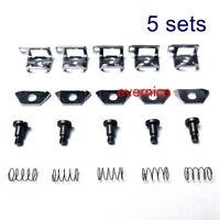 5 Sets Needle Thread Presser Guide Assy For Juki Mo Mof-3700 3900 Overlock