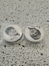 VINTAGE NEMS THE BEATLES PIN SET OF 4 NEW IN SEALED BAG