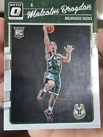 2016-17 Donruss Optic Malcolm Brogdon Rc #179 Milwaukee Bucks Rookie