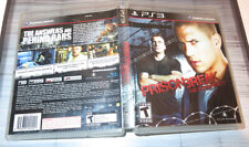 Prison Break: The Conspiracy - PS3, CASE  ONLY