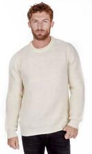 Maglioni e cardigan da uomo beige in lana taglia M