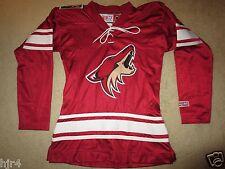 Arizona Coyotes CCM NHL Hockey Red Jersey Womens XS X-Small