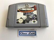 F1 World Grand Prix - Nintendo 64 N64 - PAL FRA