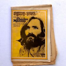 Rolling Stone June 25, 1970 Charles Manson Special Report ~ Charlie