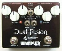 Used Wampler Tom Quayle Signature Dual Fusion V2 Overdrive Guitar Effects Pedal