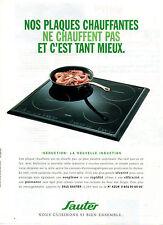 Publicité 1997  SAUTER  plaque chauffante à induction