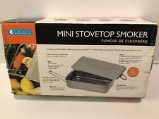 Stovetop Smoker The Original Camerons Gourmet Mini Stainless Steel Smoker NEW