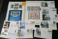 CAPTAIN COOK Stamps! Covers! Plate Blocks! Island British Capt James Resolution