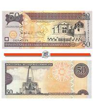 Dominican Republic 50 Pesos 2008 Unc Pn 176b