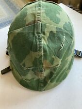 Vietnam-era Helmet Set w/ Mitchell Cover