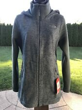 The North Face Womens Indi Hoodie Green Parka - Size Medium - NWT