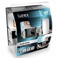 H1 Lunex Blue White 55W 12V Lampadine Fari Alogeni 3700K Set