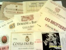 175 different from various RHONE AOCs Lot C 11 (see list)