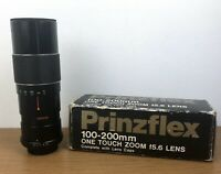 Prinzflex 100-200mm Auto Zoom f=5.6 Lens M42 Mount Fitting Boxed With End Caps
