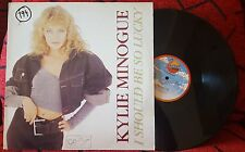 """KYLIE MINOGUE **I Should Be So Lucky** 1987 RARE Spain 12"""" Single ON SANNI LABEL"""