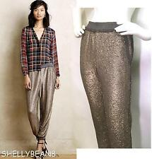 ELEVENSES Anthropologie Free People STARRY NIGHT JOGGERS Sequin Dress PANTS XS