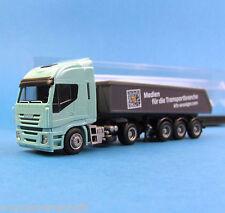 AMW H0 IVECO 560 Kipper-Sattelzug KFZ-Anzeiger LKW truck OVP HO 1:87 AWM Box