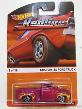 HOT WHEELS 2015 REDLINE CUSTOM '56 FORD TRUCK #08/18