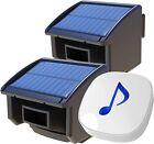 Best driveway sensor alarm - Htzsafe 1/4 Mile Solar Wireless Driveway Alarm System Review