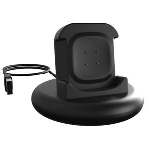 USB Watch Charger Cable Adapter Charging Dock Station for Fitbit Versa 3/Sense