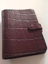 Stunning Mulberry Agenda Filofax In Rich Brown Congo Leather