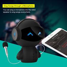 Wireless Bluetooth Robot M10 Music Speaker Support AUX TF