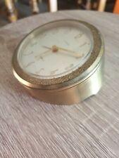 Réveil de collection. Marque LANCEL 7 jewels  métal doré fonctionne