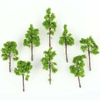 100pcs Green Model Trees for N Z scale 38mm Garden Pack Street Layout Diorama
