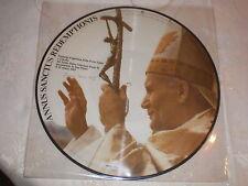 disque religieux annus sanctus redemptionis (pape jean paul 2) lp picture disc