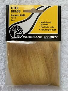 Woodland Scenics Field Grass Harvest Gold #FG172 8gr.