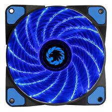 GIOCO MAX TEMPESTA forza 15 x LED BLU 120mm Fan Ventola per custodia PC 12cm ad alte prestazioni