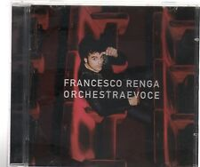 FRANCESCO RENGA ORCHESTRA E VOCE  CD