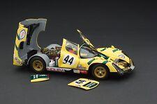 Exoto 1974 Porsche 910-6 / Le Mans Nighttime / Scale 1:18 / Item #MTB00065D